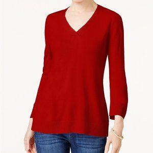 !!~Red Cherry Luxsoft V-Neck Sweater~!!